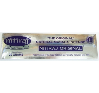 Incense Sticks - Nitiraj - The Original