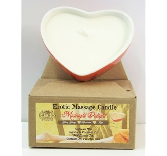 Erotic Massage Candle - Midnight Delight