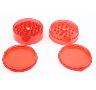 Small Red Plastic Grinder (01)